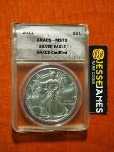 2011-1-AMERICAN-SILVER-EAGLE-ANACS-MS70