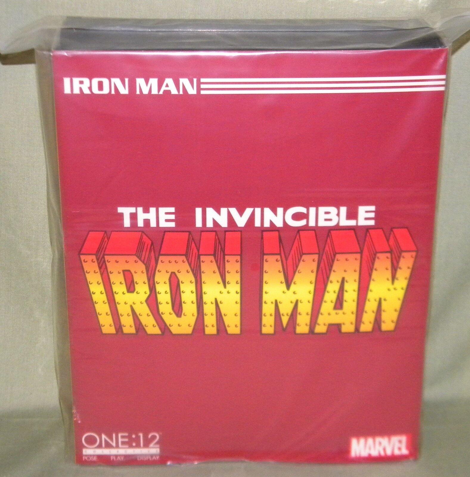 UNVERSTÄNDLICH IRON MAN One 12 Kollektiv Action Figure MEZCO TOYZ Marvel Avengers