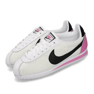 Nike-Wmns-Classic-Cortez-PREM-White-Black-Rose-Womens-Running-Shoes-905614-106