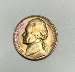 1941-D Jefferson Nickel Gem BU Uncirculated Full Step Full Steps