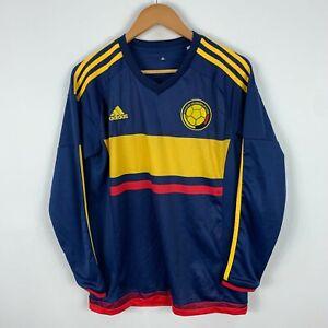 Columbia-Football-Soccer-Jersey-Mens-Medium-2015-Long-Sleeve-Adidas
