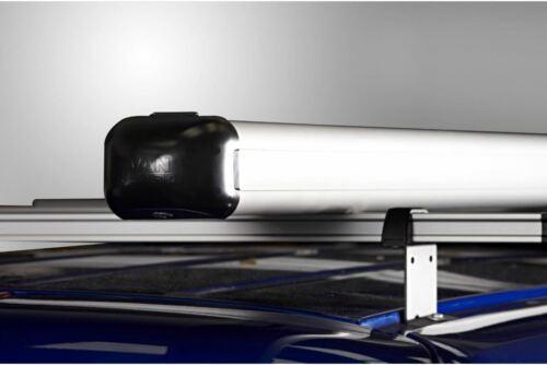 Van Guard 3m Universal Fit Aluminium Lockable Pipe Carrier Tube Twin Opening