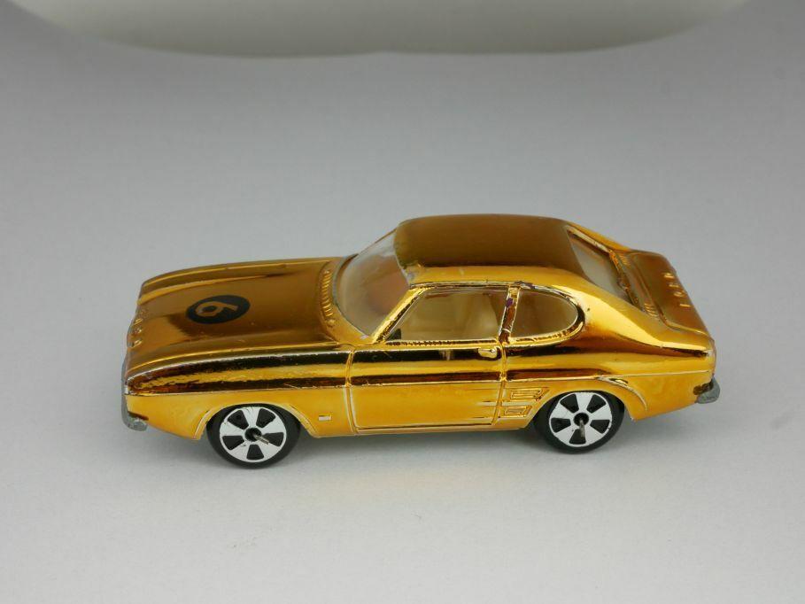 Faller Hit-voiture Ford Capri Sterntnummer 6 Gold chrome metallic 110879
