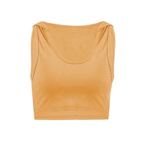 Damen Mit Kapuze Sport Weste T Shirt Sportlich Tank Tops Sommer Strand Blusen
