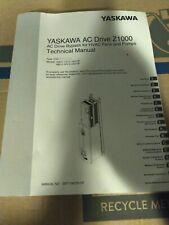 Used Yaskawa Ac Drive Z1000 User Manual Nice Cond