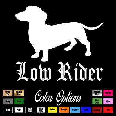I love my wiener funny car truck window sticker vinyl decal dachshund #354