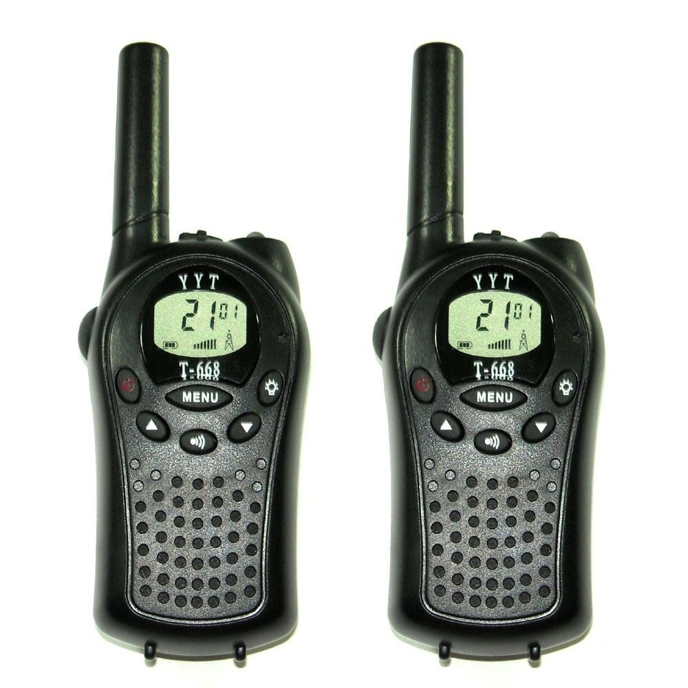 T-668 LCD Screen 2 way Walkie Talkie Twintalker PMR Aut