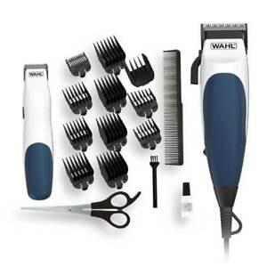 Wahl Homecut Combo Hair Clipper Plus Bonus Battery Beard Trimmer 19pc Home Cut