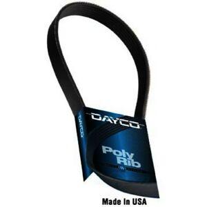 V Belt Ribbed zv Dayco Serpentine Belt for 2008-2012 Mazda CX-7 2.3L 2.5L L4