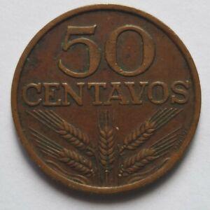 Portugal 1977 50 Centavos coin