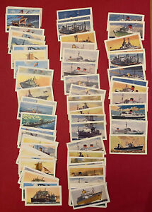 C.S. (Comet): Ships through the Ages S1/2. Lot of 77 cards. Excellent