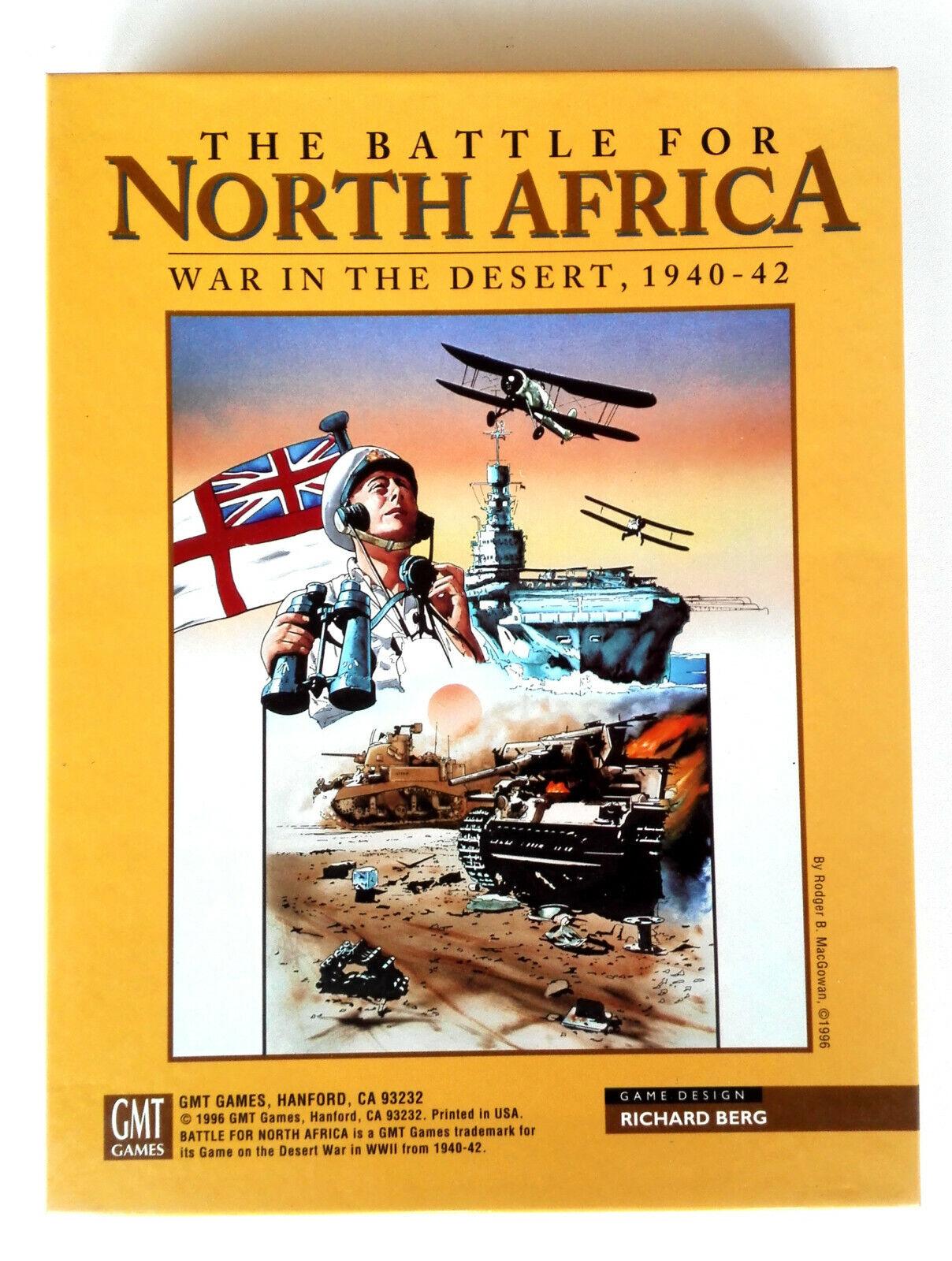 Wargame • The battle for North Africa (GMT, 1996) Desert War 1940-42 • UNPUNCHED