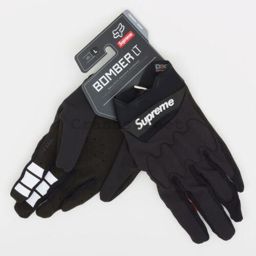 Supreme SS18 Fox Racing Bomber LT Gloves bag waist cap logo camp box