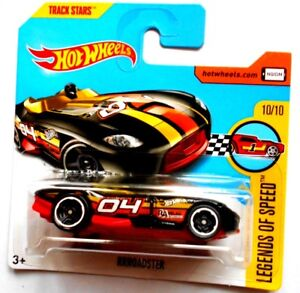 HOT-RUEDAS-RRROADSTER-LEGENDS-SPEED-TRACK-STARS-Mattel-1P
