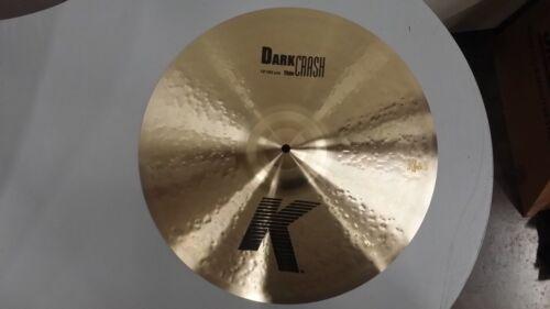 Zildjian K Dark Thin Crash Cymbal 18 K0904 **MINT CONDITION!!**