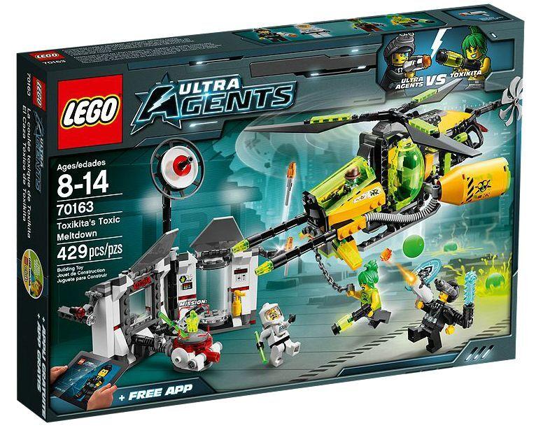 LEGO ® Ultra Agents 70163 Toxikita's Toxic Meltdown Neuf neuf dans sa boîte NEW En parfait état, dans sa boîte scellée Boîte d'origine jamais ouverte