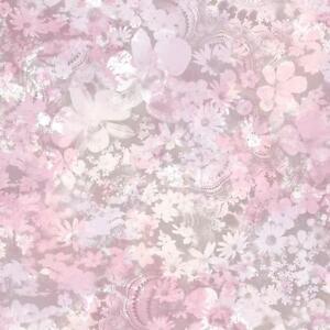 Muriva Karina Pastel Motif Fleur Papier Peint Floral Motif Feuille