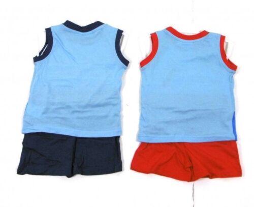 Peppa Pig Boys Blue or Red George Summer Beach Top /& Shorts x 1 Age 2 3 4 5 6