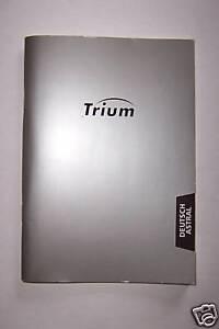 Bedienungsanleitung Trium Astral
