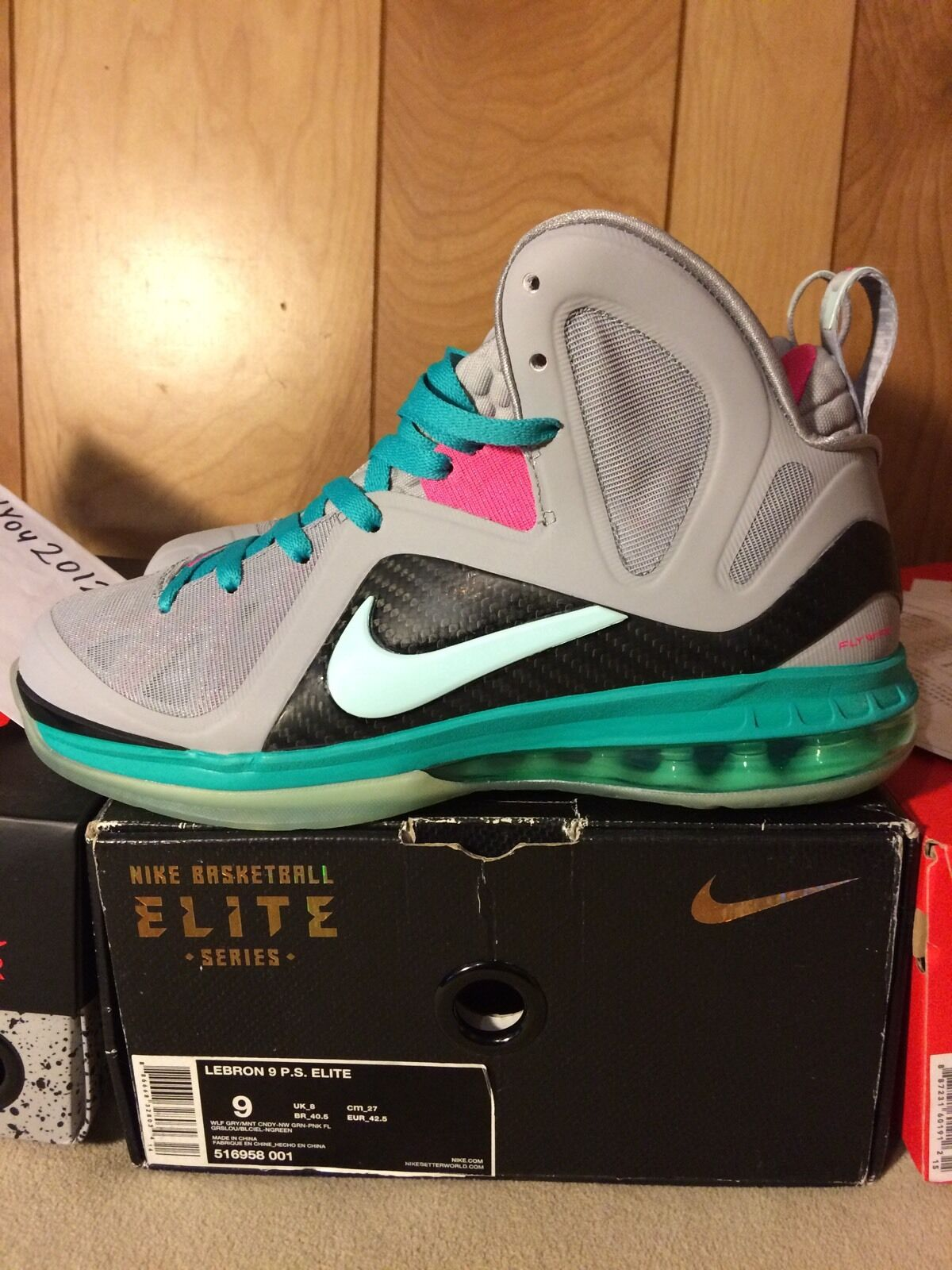 Lebron 9 Elite Southbeach P.S. South Beach Championship Nike All Star Big Bangs