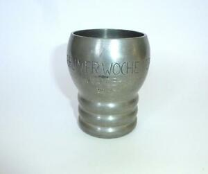 Other Adaptable Tin Cup Sports Trophies Berliner Week 1939 Edelzinn Convenience Goods
