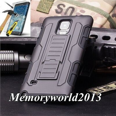 SHOCKPROOF PROTECTIVE HARD CASE COVER &TEMPERED GLASS FOR VARIOUS MOBILE PHONES.