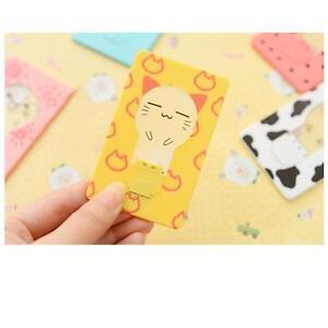 Wallet-Purse-Pocket-Credit-Card-Size-Portable-Light-Lamp-Camping-Yellow-Cat-DI