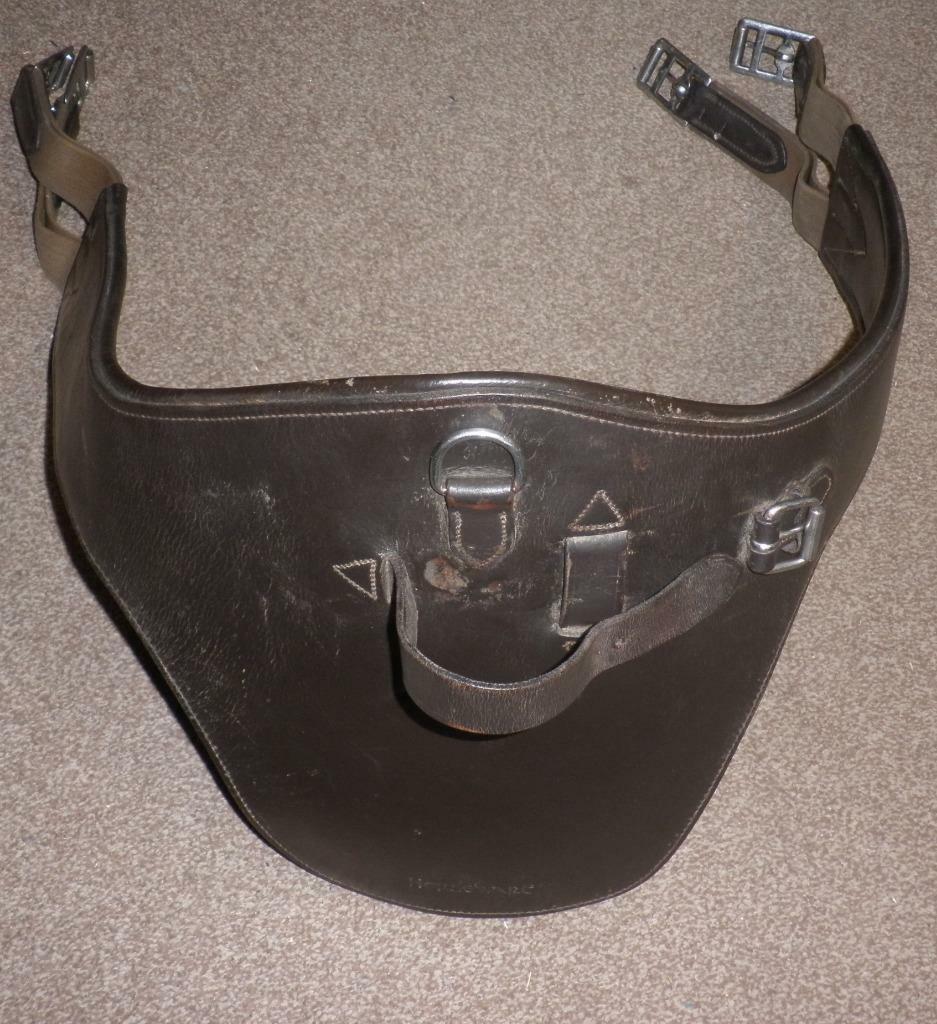 Vintage Horseware Marrón Cuero Stud circunferencia-Elástico ambos extremos  54   Disfruta de un 50% de descuento.