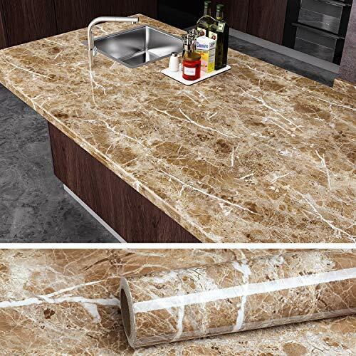 brown marble granite contact paper countertop vinyl