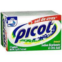 Picot Antacid Powder With Sodium Bicarbonate - Citric Acid 12 Ea (8 Pack)
