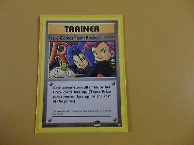 Here Comes Team Rocket Secret Rare Pokemon Card XY12 Evolutions 113//108