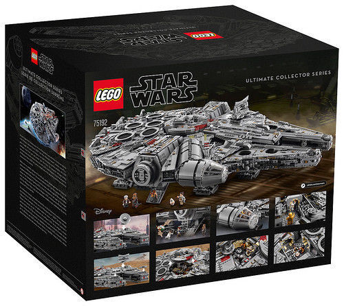 LEGO Star Wars Millennium Falcon Falcon Falcon 75192 Ultimate Collector Series Ready to Ship ff5288