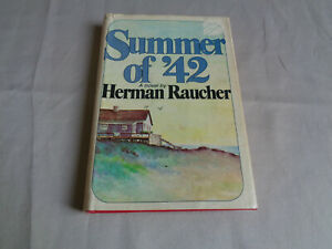 Herman-Raucher-Summer-of-039-42-Putnam-Book-Club-Hardcover-DJ
