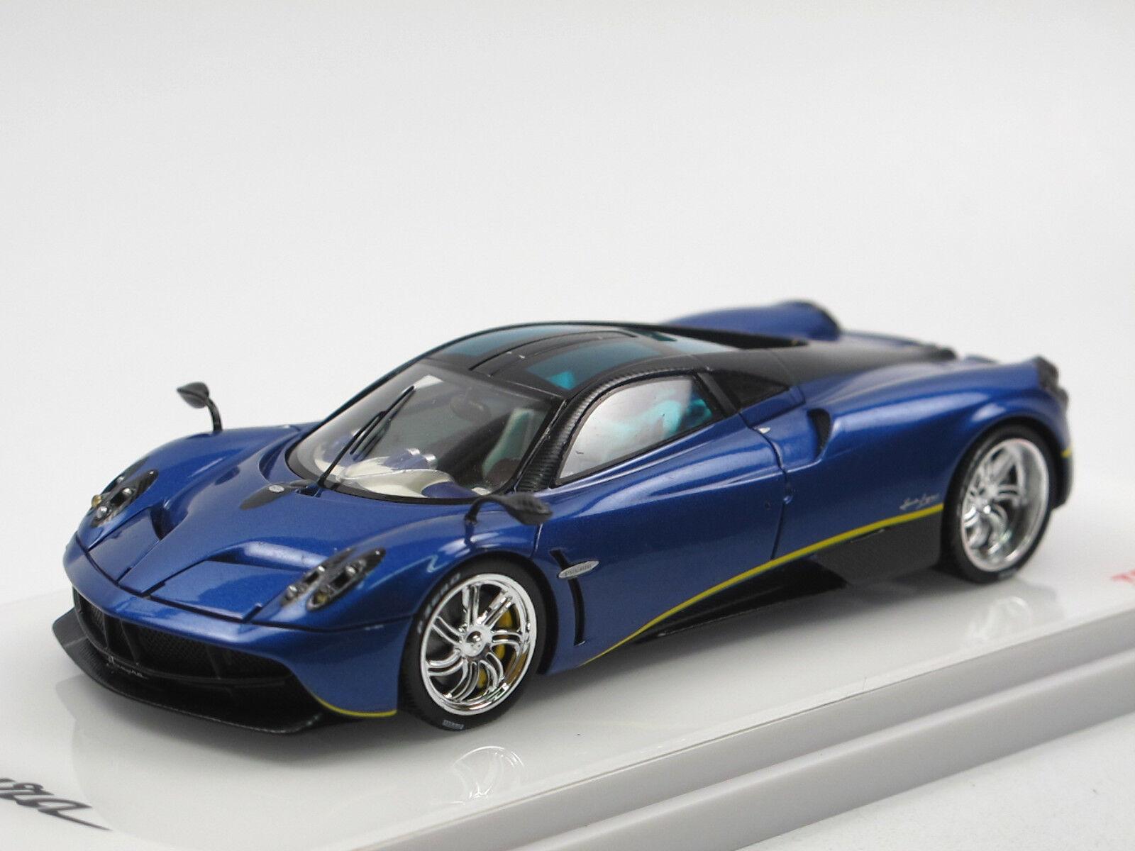 TSM Model 2014 Pagani Huayra blu argentoina carbon nero 1 43