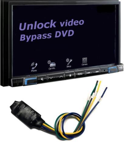 Video In Motion Brake Bypass For AVH-X490BS AVH-290BT AVH-190DVD NEX APO102 NEW