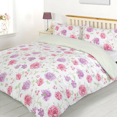 New Modern Duvet Cover Set with Pillow Case, Bedding Set - Single, Double, King