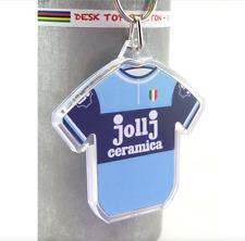 Jollj Ceramica para Ciclismo Jersey Algodón 1975 Battaglin KEYRING Giro d 'Italia Rapha