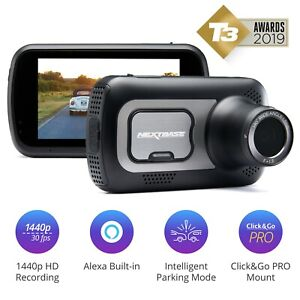 Nextbase-522GW-Dash-Cam-In-Car-1440p-Ultra-HD-WiFi-GPS-Bluetooth-Alexa