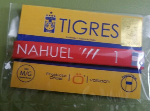 TIGRES UANL NAHUEL 1 BRACELET SPECIAL EDITIO  OFFICIAL PRODUCT SIZE M//G RED
