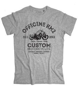 T-shirt-uomo-CUSTOM-MOTORCYCLE-Scrambler-BMW-rider-moto-Officine-Km2-tshirt