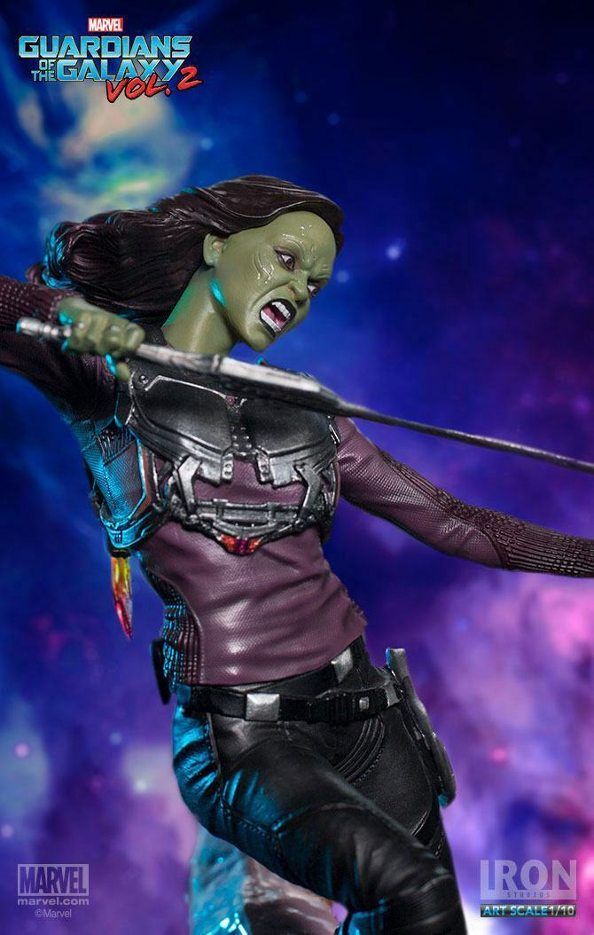 GUARDIANS of the GALAXY 2: GAMORA BATTLE DIORAMA SERIES 1/10 Statuen Eisen