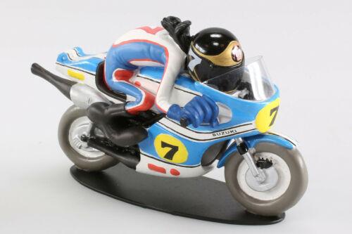 """MOTO 1//18 SUZUKI 500 RG JOE BAR TEAM /"""" Barry Sheene /"""" RESINE"""