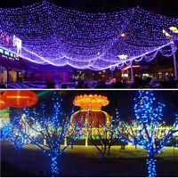 NEW 200 LED 22M Solar Powered Fairy String Lights Garden Christmas Outdoor Decor