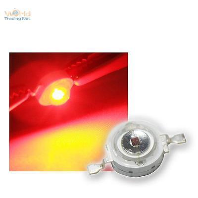 Affidabile Highpower Led 3w Rosso, 3 W Rosso High Power Smd Led, 3 Watt 700ma Rouge Rojo Pulizia Della Cavità Orale.
