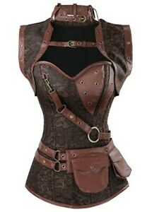 lagertha corset steampunk vikings warrior costume