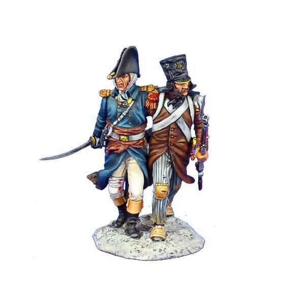 NAP0492 Franska Officer och Grenadier NCO 18 e infanteriet av First Legion