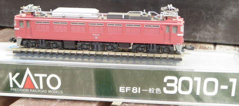 Kato 3010-1 Voie N Électrique-locomotive Ef 81-81 Der Jnr Japon Japon Japon Très Bien 46970e