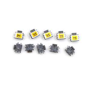 10pcs-YD-3414-4Pin-SMD-Turtle-type-Tact-Power-Side-Switch-Button-XC