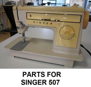 Original Singer 507 Sewing Machine Replacement Repair Parts