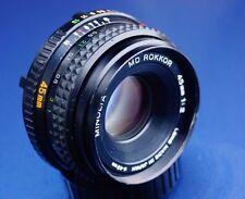 Minolta 45mm F2 Standard MD Mount PRIME Lens,